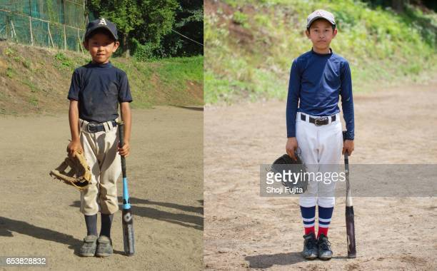 Youth Baseball Players,  Time flow