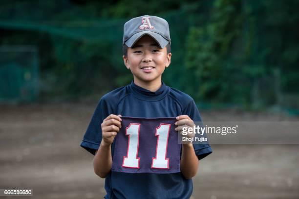 Youth Baseball Players, Uniform number