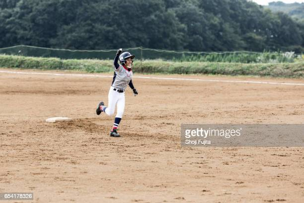 Youth Baseball Players,action