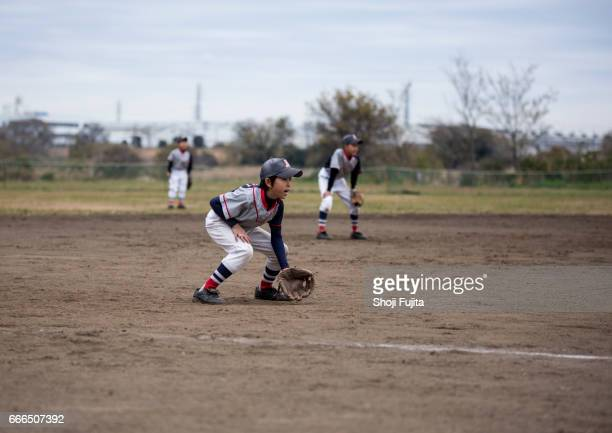 Youth Baseball Players,game,Defensive