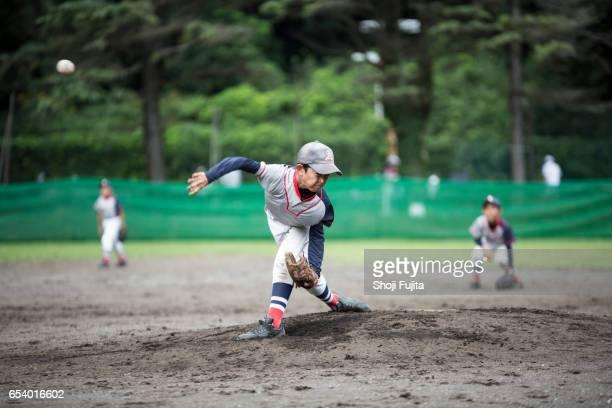Youth Baseball Players,pitching