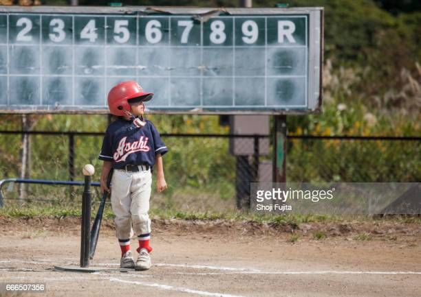 Youth Baseball Players,playing game