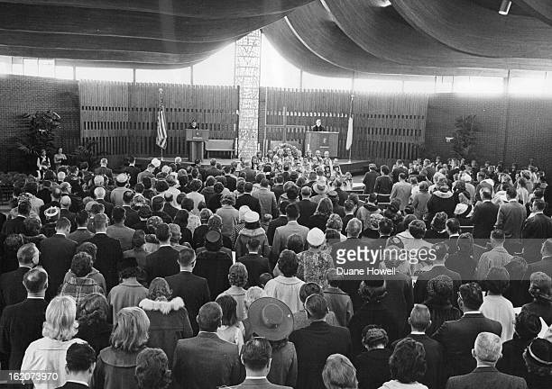 MAR 7 1965 MAR 10 1965 Youth Choir Sings At Opening Of First Methodist Church In Littleton Sunday Littleton Methodists Occupy New $600000 Church...
