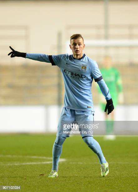 FA Youth Cup Fifth Round Manchester City v Stoke City City Academy Stadium Bersant Celina Manchester City