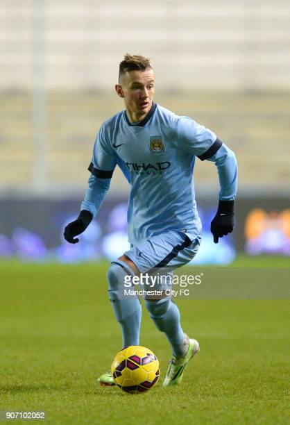FA Youth Cup Fifth Round Manchester City v Stoke City City Academy Stadium Bersant Celina Manchester City