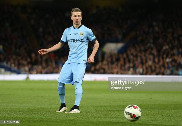 FA Youth Cup Final Second Leg Chelsea v Manchester City Stamford Bridge Manchester City's Bersant Celina in action