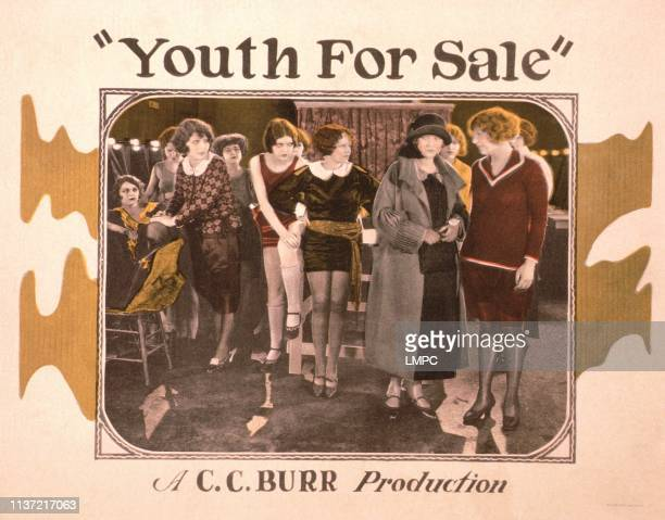 Youth For Sale US lobbycard May Allison Sigrid Holmquist 1924