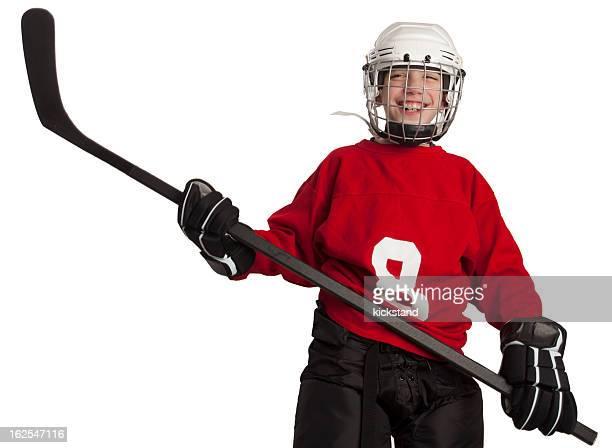 Youth Ice Hockey Player