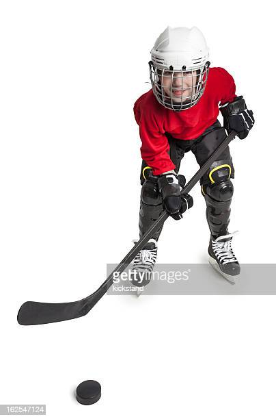 Youth Ice Hockey Player