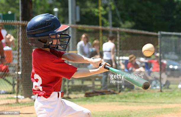 youth league batter - baseball sport stock pictures, royalty-free photos & images