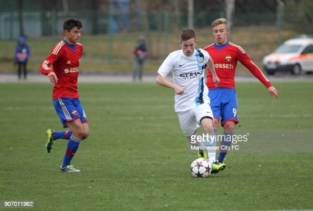 Youth League Group D CSKA Moscow v Manchester City Oktyabr Stadium Manchester City's Jack Byrne