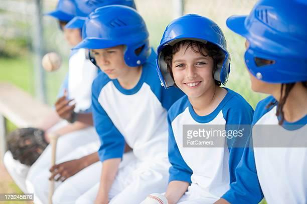 youth league - honkbal teamsport stockfoto's en -beelden