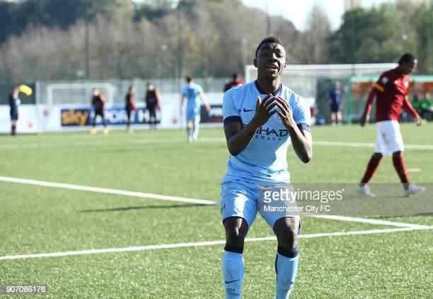 Youth League Roma U19 v Manchester City U19 Stadio Manlio Scopigno Manchester City's Thierry Ambrose