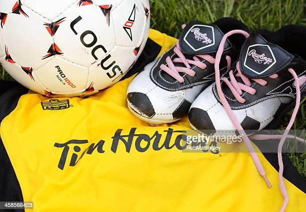 youth soccer gear - sponsra bildbanksfoton och bilder