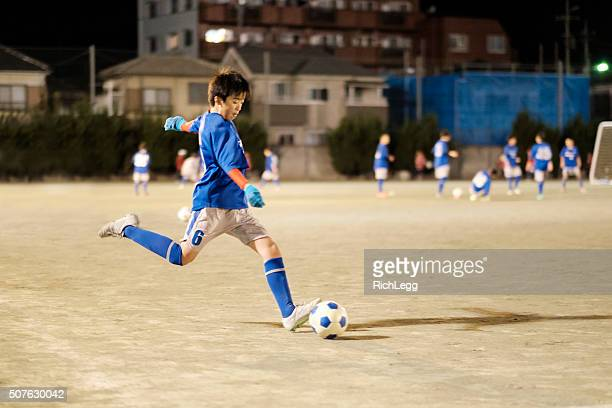 Youth Soccer Player in Tokyo Japan