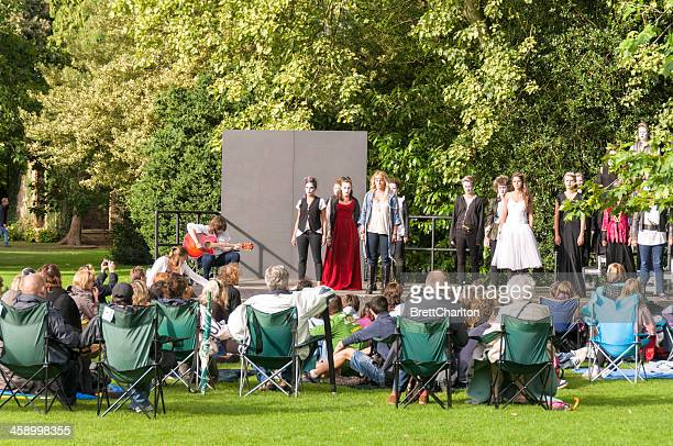 youth theatre - shakespeare stock photos and pictures