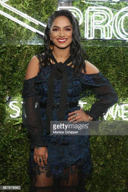 YouTube beauty expert Deepica Mutyala attends the Pencils of Promise Annual Gala 2017 in Central Park on December 7 2017 in New York City