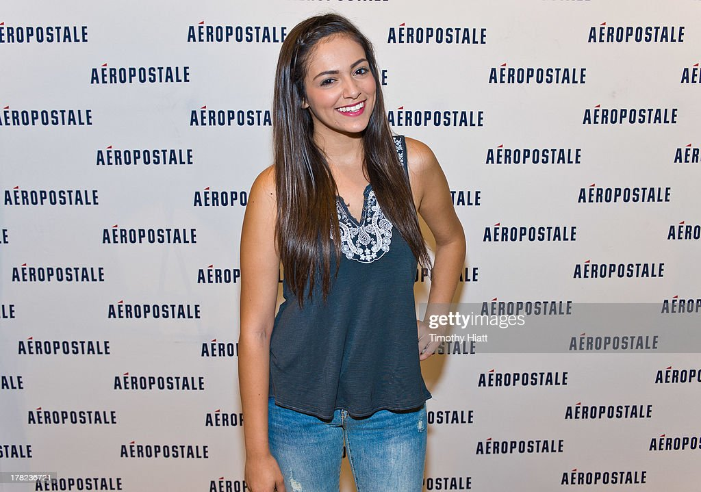 Aeropostale welcomes youtube celebrity bethany macbarbie07 mota at youtube celebrity bethany macbarbie07 mota attends an exclusive meet greet at the woodfield m4hsunfo