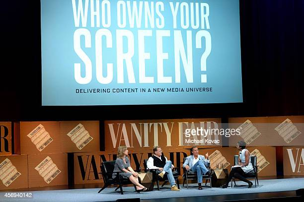 Youtube CEO Susan Wojcicki, Discovery Communications President and CEO David Zaslav, HBO Chairman and CEO Richard Plepler and DreamWorks Animation...