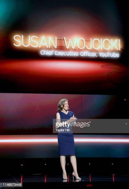 YouTube CEO Susan Wojcicki onstage at YouTube Brandcast 2019 at Radio City Music Hall on May 02, 2019 in New York City.