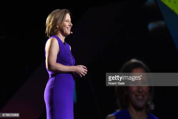 YouTube CEO Susan Wojcicki speaks onstage at the YouTube #Brandcast presented by Google at Javits Center North on May 4 2017 in New York City