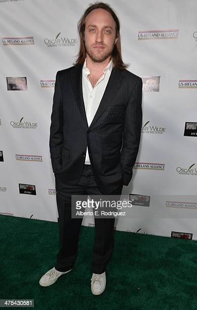 YouTube cofounder/Honoree Chad Hurley attends the 9th Annual 'Oscar Wilde Honoring The Irish In Film' PreAcademy Awards event at Bad Robot on...