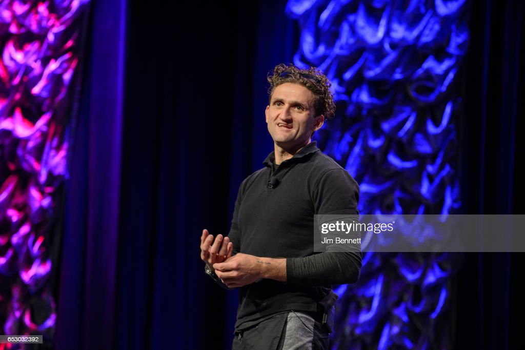 YouTube creator and CNN Worldside co-founder Casey Neistat speaks during the SxSW Conference at the Austin Convention Center on March 11, 2017 in Austin, Texas.