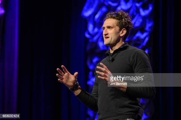 YouTube creator and CNN Worldside cofounder Casey Neistat speaks during the SxSW Conference at the Austin Convention Center on March 11 2017 in...
