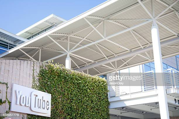 youtube headquarters - san bruno stock photos and pictures