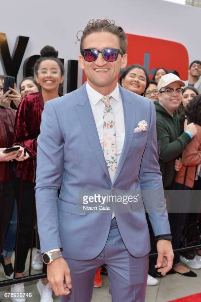 YouTube Influencer Casey Neistat attends the YouTube #Brandcast presented by Google at Javits Center North on May 4 2017 in New York City