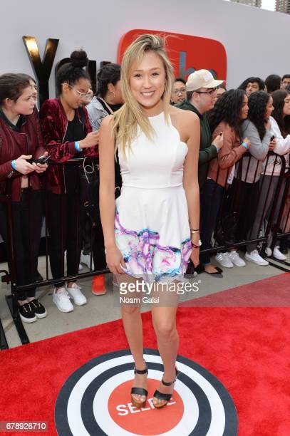 YouTube Influencer Lauren Riihimaki of LaurDIY attends the YouTube #Brandcast presented by Google at Javits Center North on May 4 2017 in New York...