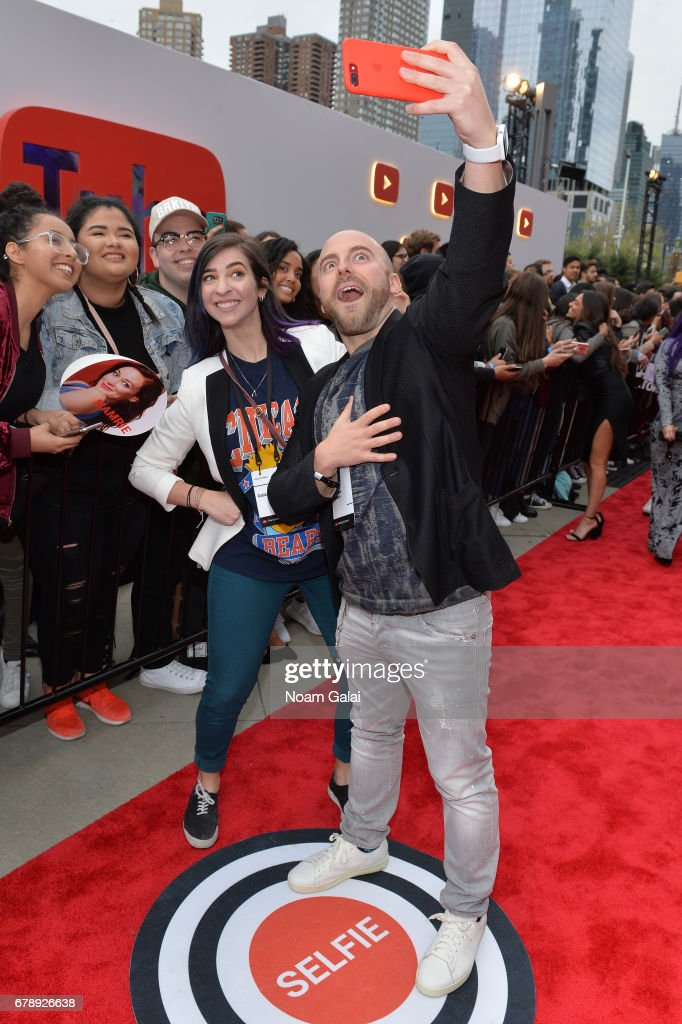 YouTube Brandcast 2017 Presented By Google - Red Carpet : News Photo