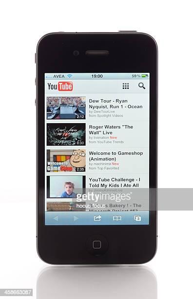 Youtube on Apple iPhone