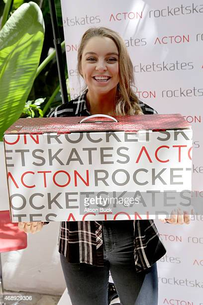 YouTube personality Alexa Losey attends Kari Feinstein's Music Festival Style Lounge at Sunset Marquis Hotel Villas on Apili 8 2015 in West Hollywood...