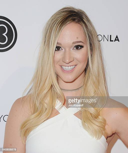 YouTube personality Alisha Marie arrives at the 4th Annual Beautycon Festival Los Angeles at Los Angeles Convention Center on July 9 2016 in Los...