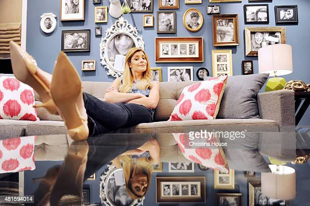 YouTube personality and actress Grace Helbig is photographed for Los Angeles Times on April 8 2015 in Los Angeles California Photo by Christina...