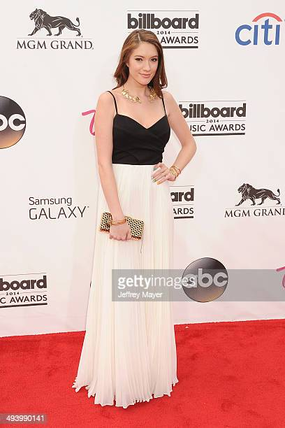 YouTube personality Blair Fowler arrives at the 2014 Billboard Music Awards at the MGM Grand Garden Arena on May 18, 2014 in Las Vegas, Nevada.
