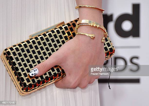 YouTube personality Blair Fowler attends the 2014 Billboard Music Awards at the MGM Grand Garden Arena on May 18 2014 in Las Vegas Nevada