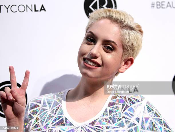 YouTube personality Brendan Jordan attends the 4th Annual Beautycon Festival at Los Angeles Convention Center on July 9 2016 in Los Angeles California
