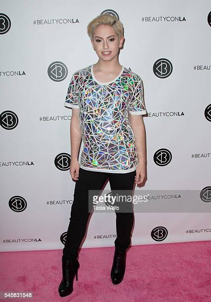 YouTube personality Brendan Jordan attends the 4th Annual Beautycon Festival Los Angeles at the Los Angeles Convention Center on July 9 2016 in Los...