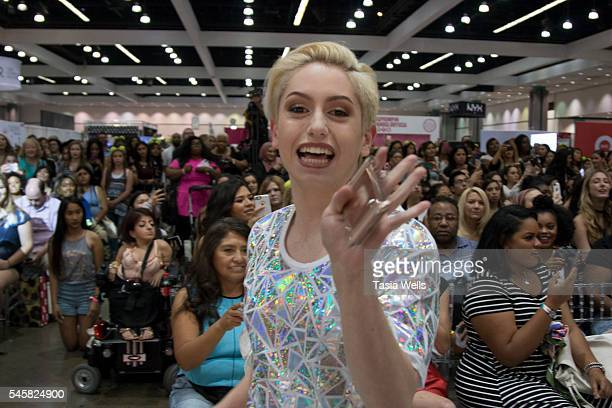 YouTube personality Brendan Jordan walks onstage at the 4th Annual Beautycon Festival Los Angeles at the Los Angeles Convention Center on July 9 2016...