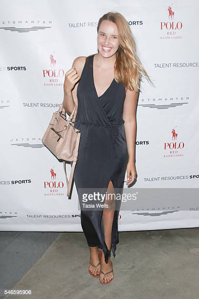 YouTube personality Cassidy Gard attends 2016 ESPYs Talent Resources Sports Luxury Lounge on July 12 2016 in Los Angeles California