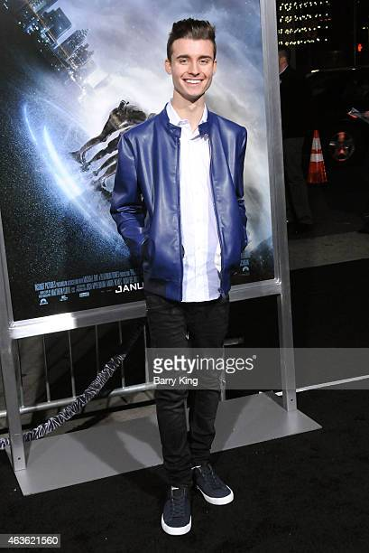 YouTube Personality Chris Collins attends the premiere of 'Project Almanac' at TCL Chinese Theatre on January 27 2015 in Hollywood California