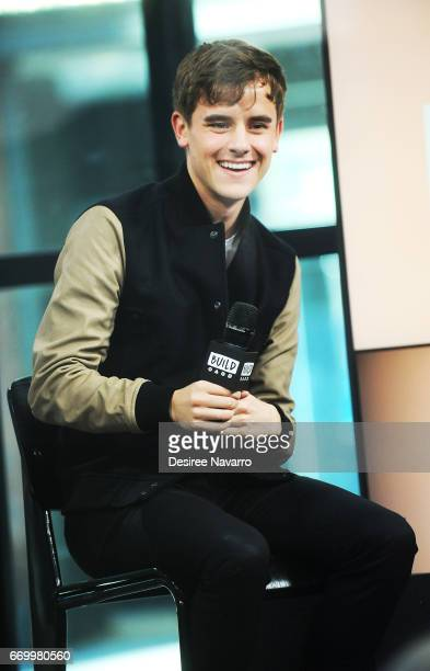 YouTube Personality Connor Franta attends Build Series to discuss his new memoir 'Note To Self' at Build Studio on April 18 2017 in New York City