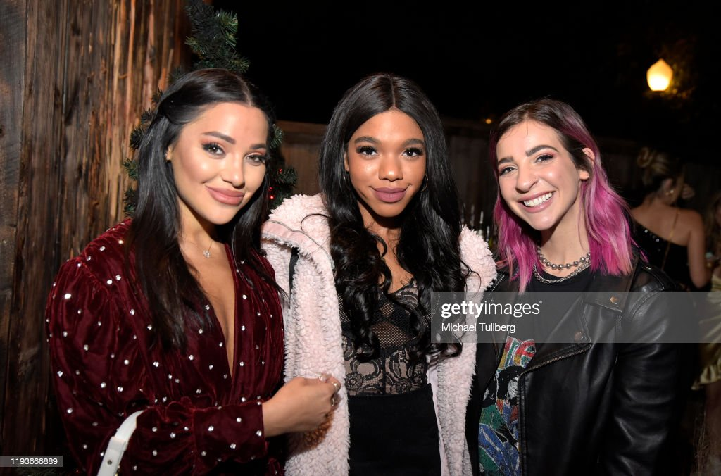 "Niki DeMartino's Emo Holiday Party Celebrating Her Jewelry Line ""NikNaks"" : News Photo"