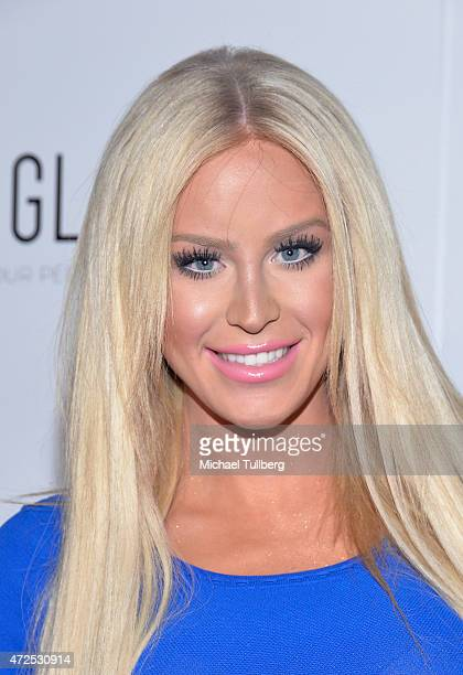 YouTube personality Gigi Gorgeous attends NYLON Magazine and BCBGeneration's Annual May Young Hollywood Issue Party at HYDE Sunset Kitchen Cocktails...
