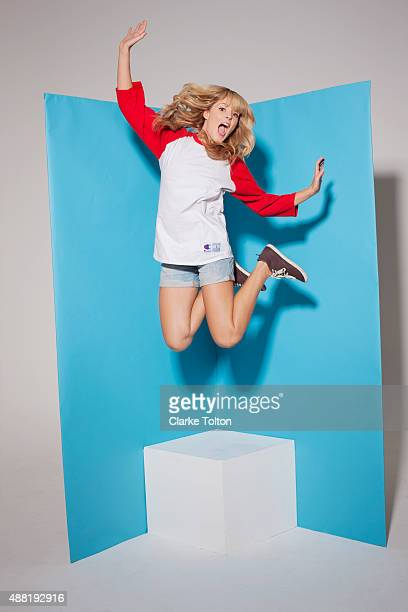 YouTube personality Grace Helbig is photographed for Refinery29 on March 12 2013 in Los Angeles California PUBLISHED IMAGE