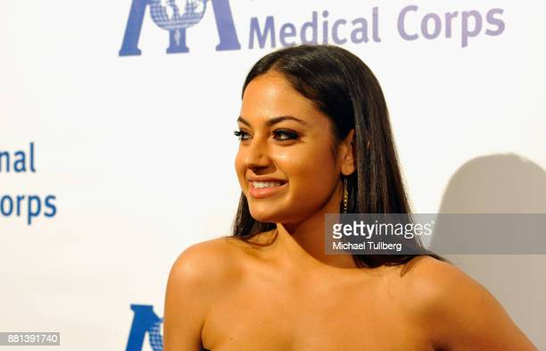YouTube personality Inanna Sarkis attends the International Medical Corps Annual Awards Celebration at the Beverly Wilshire Four Seasons Hotel on...