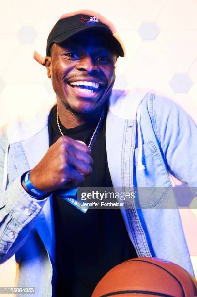 YouTube personality Jay Jones poses for a portrait during the 2019 NBA AllStar circuit on February 15 2019 at the Sheraton Hotel in Charlotte North...
