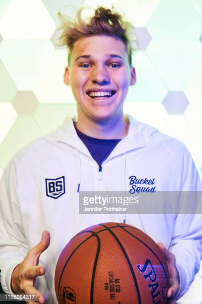 YouTube personality JesserTheLazer poses for a portrait during the 2019 NBA AllStar circuit on February 15 2019 at the Sheraton Hotel in Charlotte...